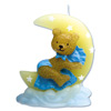 Teddy Bear on Moon Candle