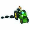 Bride & Groom on Tractor