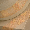 Rose Lace Ribbon Gold