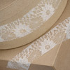 Rose Lace Ribbon Ivory