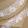 Rose Lace Ribbon White