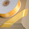 Double Sided Satin Ribbon 6mm x 25M Marigold