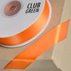 Double Sided Satin Ribbon 6mm x 25M Orange