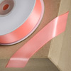 Double Sided Satin Ribbon 10mm x 25M Salmon