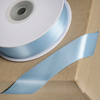 Double Sided Satin Ribbon 15mm x 25M Duck Egg Blue