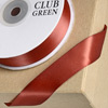 Double Sided Satin Ribbon 15mm x 25M Marsala