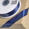 Double Sided Satin Ribbon 15mm x 25M Navy Blue