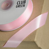 Double Sided Satin Ribbon 15mm x 25M Pink