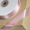 Double Sided Satin Ribbon 15mm x 25M Taupe