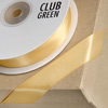 Double Sided Satin Ribbon 23mm x 25M Mustard Gold