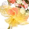 Organza Floral Wrap
