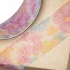 Organza Floral Patterned Ribbon