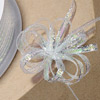 Iridescent Lurex Pull Bow Ribbon