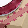 Heart Edged Organza Ribbon
