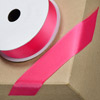 Grosgrain Ribbon 25mm x 10M Fuchsia