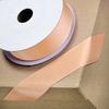 Grosgrain Ribbon 25mm x 10M Peach
