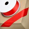 Grosgrain Ribbon 25mm x 10M Red
