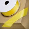 Grosgrain Ribbon 25mm x 10M Yellow