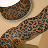 Wired Leopard Print Ribbon