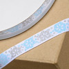 Grosgrain Christmas Ribbon Snow Flakes