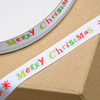 Grosgrain Ribbon Merry Christmas