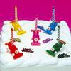 Party Candles Racing Car Set