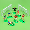 Plastic Football Kit with 6 players, 1 referee and 2 goals