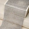 Diamanté Effect 24 Rows Band