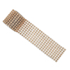 PLAST.ROSE GOLD DIAM/EFFECT 8 ROWS BANDX1.5M