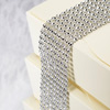 Diamanté Effect 8 Rows Band