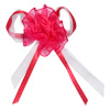 Self Adhesive Organza Rose/Bow