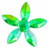 Self Adhesive Crystal Flower