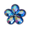 Self Adhesive Crystal Daisy