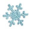 Self Adhesive glitter snowflakes