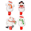 Wooden Pegs Christmas Snowman