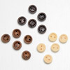 Wooden Round Buttons