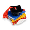 Books Graduation/Sharpener