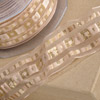 Wire Organza Ribbon with Squares