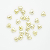 N/K SMALL CHOCOLATE HEARTS MET.GOLD 15MM (1Kg)