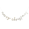 'MERRY CHRISTMAS' CARD BANNER 2mt