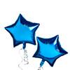 Blue Star Foil Balloons