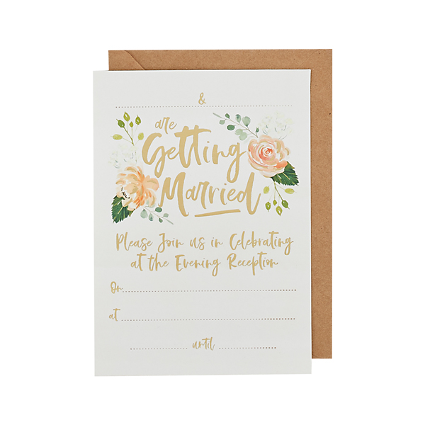 Evening Invitations & Envelopes