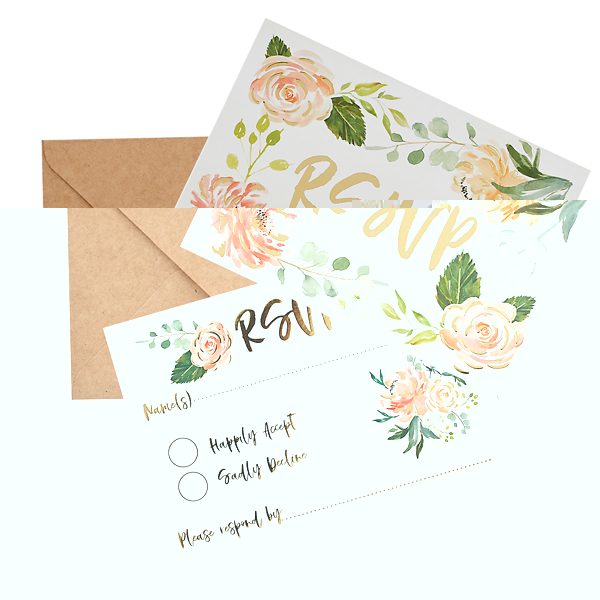 RSVP Cards & Envelopes