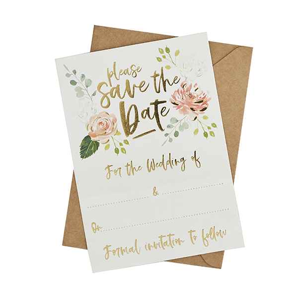 Save the Date Cards & Envelopes