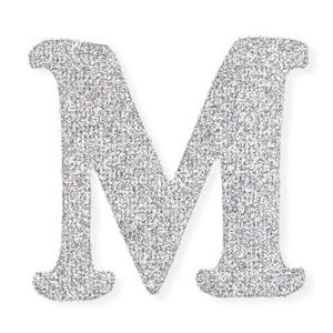 Self Adhesive Glitter Letters