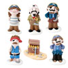 Sugar Pirates & Treasure Chest - Pack of 24.