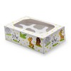 Cupcake Box Jungle Animals