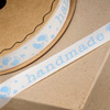 Baby Footprint Ribbon with Handmade