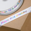 50th Birthday Ribbon