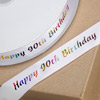 90th Birthday Ribbon